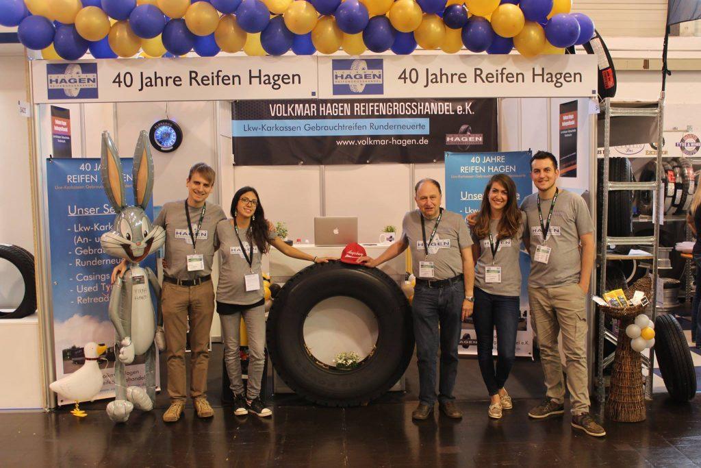 Reifen Hagen auf der Reifenmesse 2016